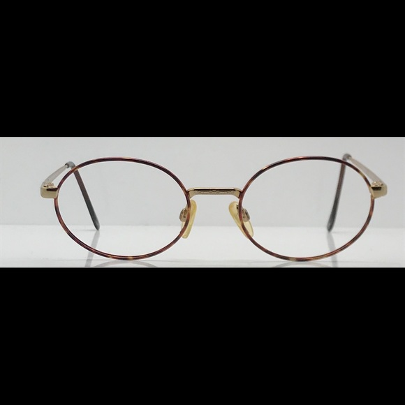 47966a92d51 Luxottica Other - Vintage Luxottica Gold Oval Eyeglasses Frames
